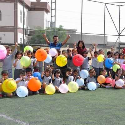 KALAR STUDENTS TAKE PART IN BALLOON DAY