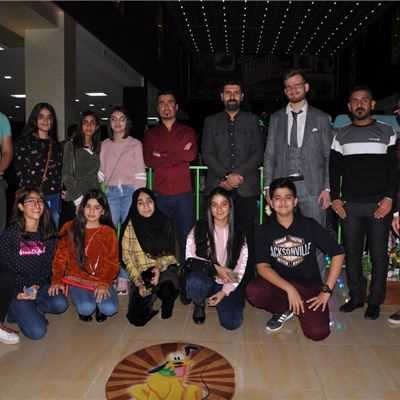 KALAR STUDENTS ENJOY ITALIAN DINNER