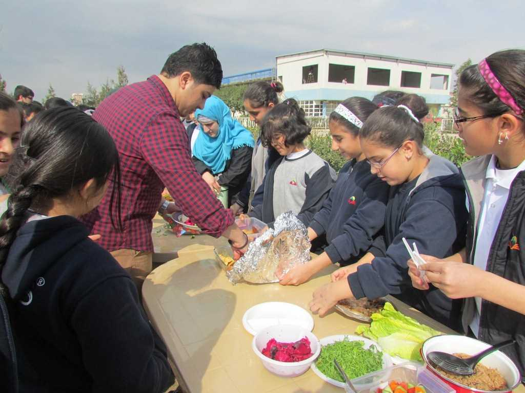 Fakhir 5th and 6th Graders Cook for their Friends