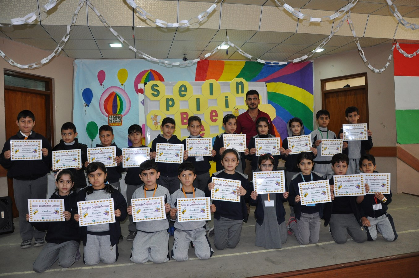 Kalar Students Participate in Spelling Bee Competition