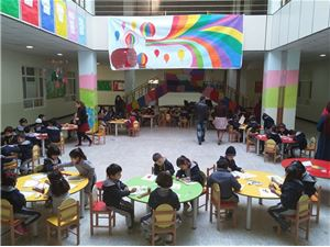 Kalar KG2 Students Get Creative on Painting Day