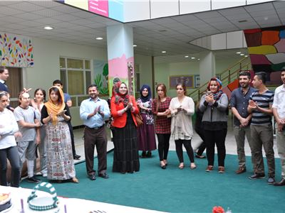 Kalar Students Show Appreciation on World Teachers' Day