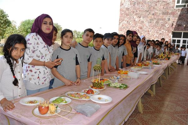 Kalar Students Have Healthy Food Day